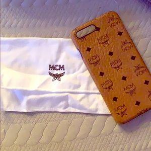 Authentic MCM phone case